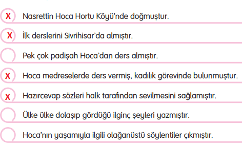 3. Sınıf Türkçe Gizem Yayıncılık Sayfa 104 Ders Kitabı Cevaplar