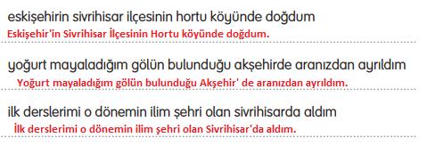 3. Sınıf Türkçe Gizem Yayıncılık Sayfa 108 Ders Kitabı Cevaplar2