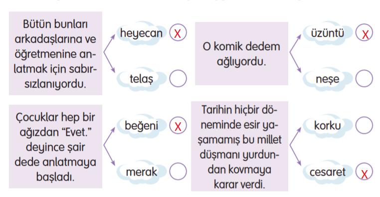 3. Sınıf Türkçe Gizem Yayıncılık Sayfa 116 Ders Kitabı Cevaplar1