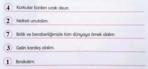 3. Sınıf Türkçe Gizem Yayıncılık Sayfa 35 Ders Kitabı Cevaplarıı