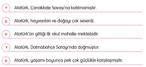 3. Sınıf Türkçe Gizem Yayıncılık Sayfa 64 Ders Kitabı Cevapları