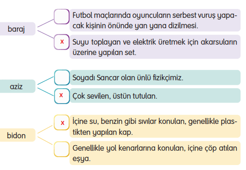 3. Sınıf Türkçe Gizem Yayıncılık Sayfa 84 Ders Kitabı Cevaplar