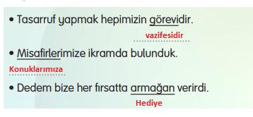 3. Sınıf Türkçe Gizem Yayıncılık Sayfa 85 Ders Kitabı Cevaplar