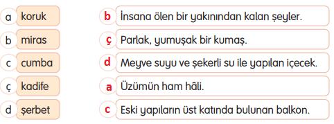 3. Sınıf Türkçe Gizem Yayıncılık Sayfa 96 Ders Kitabı Cevaplar