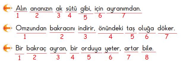 3. Sınıf Türkçe MEB SDR İpekyolu Yayıncılık Sayfa 60. Ders Kitabı Cevapları