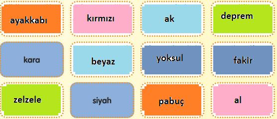 3. Sınıf Türkçe MEB Yayınları Sayfa 19 Çalışma Kitabı Cevapları1