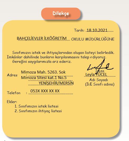 3. Sınıf Türkçe MEB Yayınları Sayfa 22 Ders Kitabı Cevapları