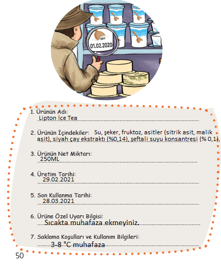 3. Sınıf Türkçe MEB Yayınları Sayfa 50 Ders Kitabı Cevapları