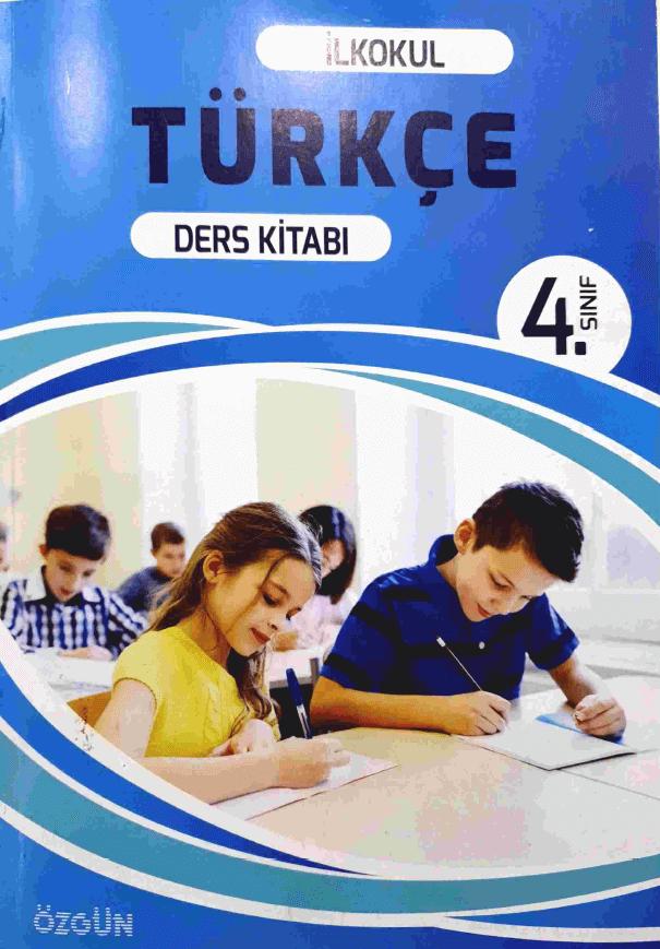 4. Sınıf Türkçe Ders Kitabı Cevapları Özgün Yayınları