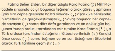 4. Sınıf Türkçe MEB Yayınları Sayfa 39 Çalışma Kitabı Cevapları Yardımcı Kaynak