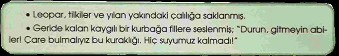 4. Sınıf Türkçe Özgün Yayınları Sayfa 18 Ders Kitabı Cevapları