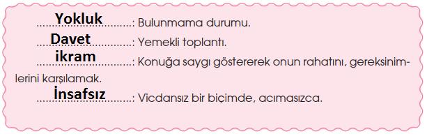 4. Sınıf Türkçe Özgün Yayınları Sayfa 44 Ders Kitabı Cevapları (1)