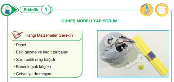 5. Sınıf Fen Bilimleri SDR Dikey Yayınları Sayfa 17 Ders Kitabı Cevapları