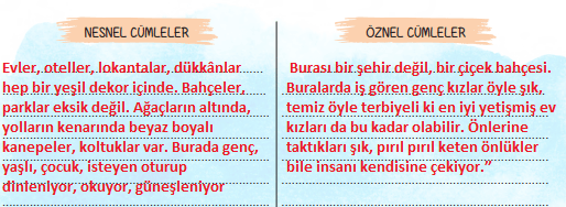 6. Sınıf Türkçe Ders Kitabı ATA Yayınları Sayfa 41 Ders Kitabı Cevapları2