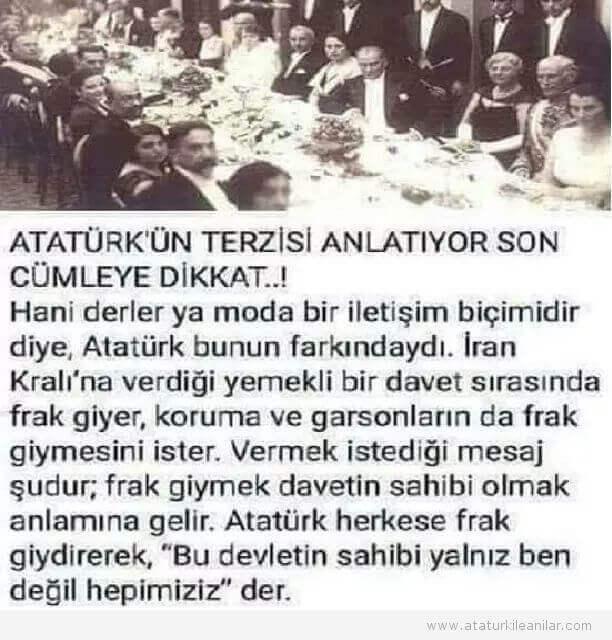 Atatürk'ün Bir ANISI