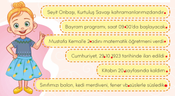 3. Sınıf Türkçe MEB Yayınları Sayfa 40 Çalışma Kitabı Cevapları Çalışma Kitabı