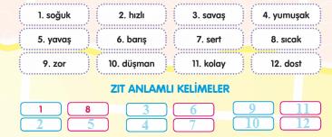 3. Sınıf Türkçe MEB Yayınları Sayfa 39 Çalışma Kitabı Cevapları Çalışma Kitabı